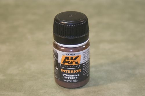 AK Interactive Interior Streaking Effects wash AK