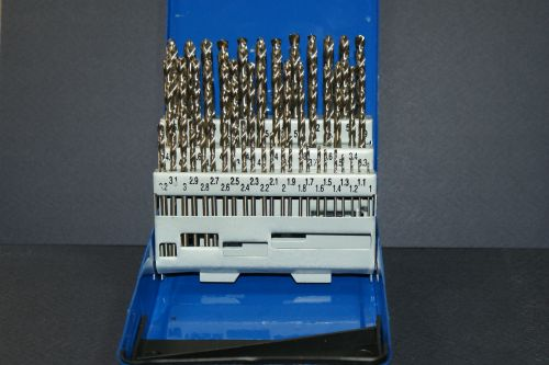 Drill set 1.0 - 6.0 x 0.1mm 51 drills