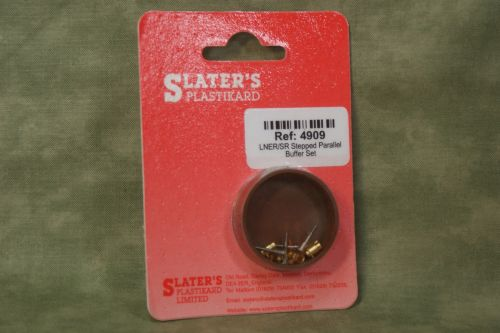 SLATERS 4909 SPRUNG BUFFERS LNER/SR Stepped parallel