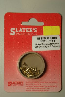 Slaters 7154 Brass Bearing for wagon wheel sets p