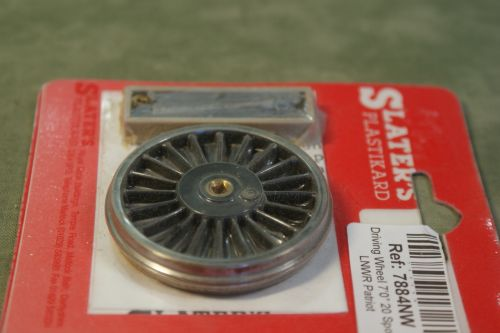 Slaters 7884 7ft0inch 20 spoke LNWR