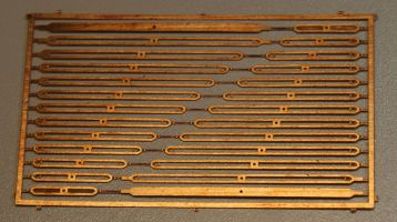 Drawbar 13 leaf spring Etch